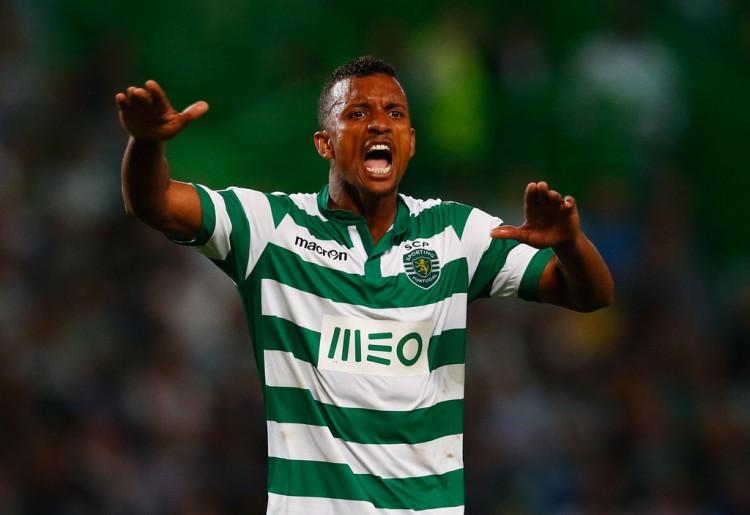 Nani+Sporting+Clube+de+Portugal+v+Chelsea+_qRG0OKSFmFx