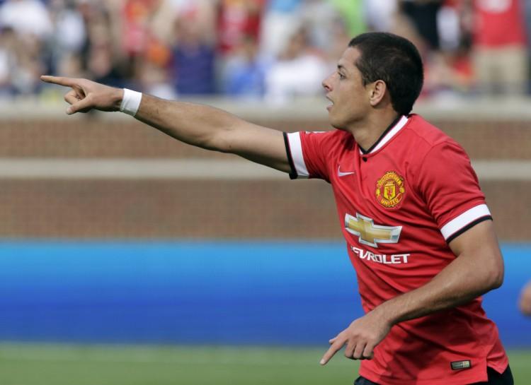 Javier+Hernandez+International+Champions+Cup+zMM0Ev-Rax1x