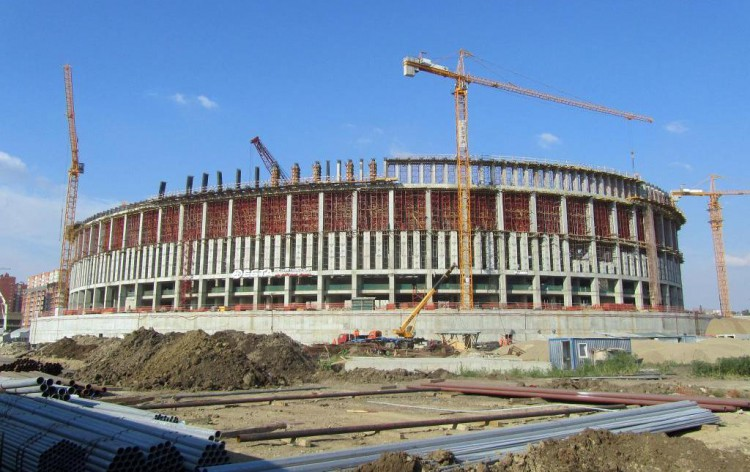 Строительство стадиона ФК «Краснодар»