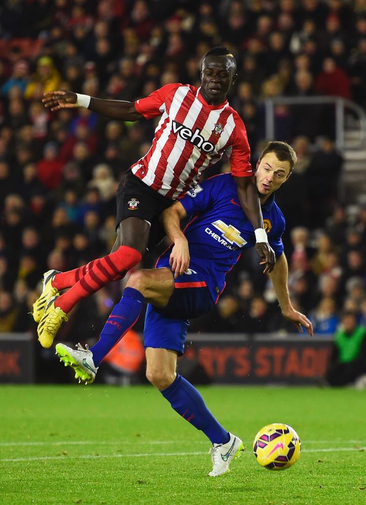 Jonny+Evans+Southampton+v+Manchester+United+_kvt1SSfZ0Kx