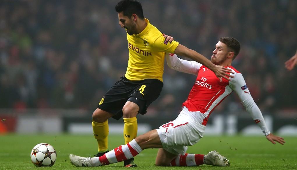Ilkay+Gundogan+Arsenal+FC+v+Borussia+Dortmund+FlTGO5ePQ27x