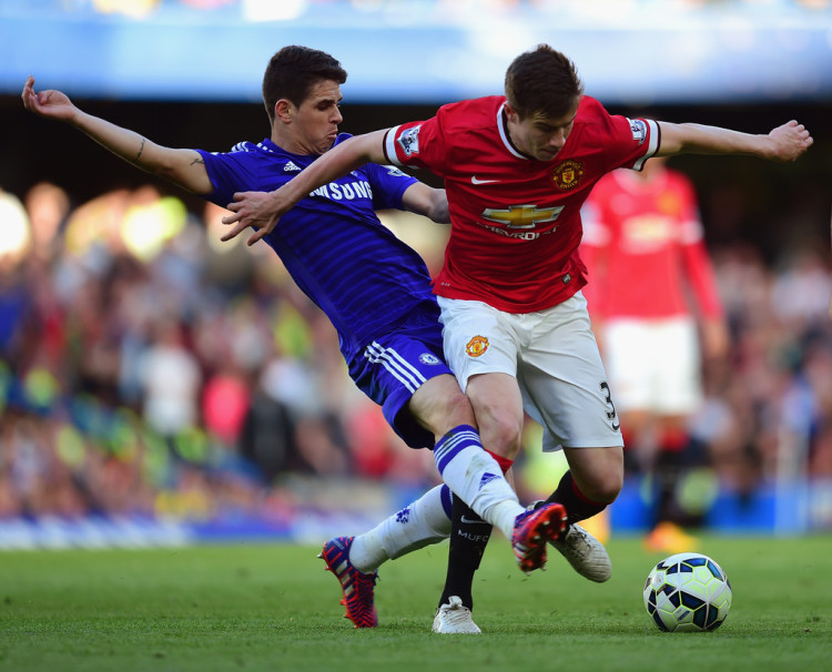 Paddy+McNair+Chelsea+v+Manchester+United+Premier+zWfaotcpB2Wx