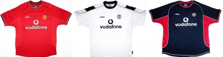 На смену Sharp приходит Vodafone. Домашняя форма хорошо покупается, но фанаты не довольны большим логотипом нового спонсора, который переключает на себя внимание с логотипа клуба.