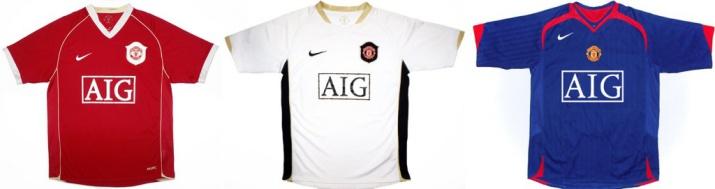 У клуба меняется титульный спонсор. На этот раз им становится компания AIG. Форма сделана в ретро-стиле и выглядит довольно неплохо.