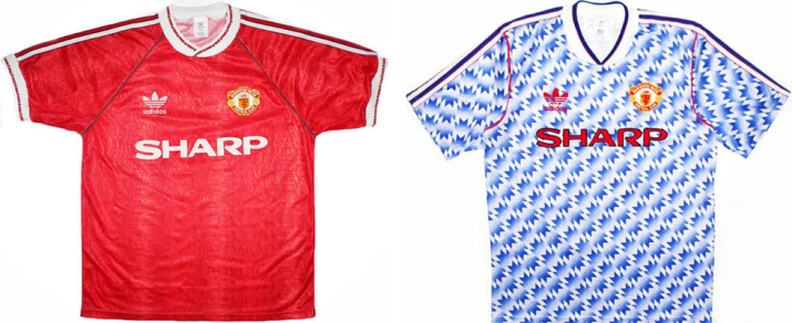 Это был последний комплект формы от Adidas. Гостевая форма, похожая на обои, была одной из самых непопулярных футболок среди фанатов.