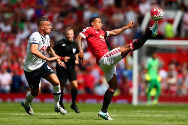 Memphis+Depay+Manchester+United+v+Tottenham+pV8ZMNyLYOfl
