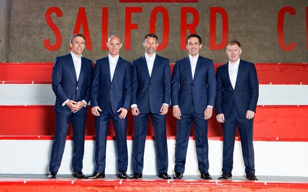 Class of 92: Out of their League
