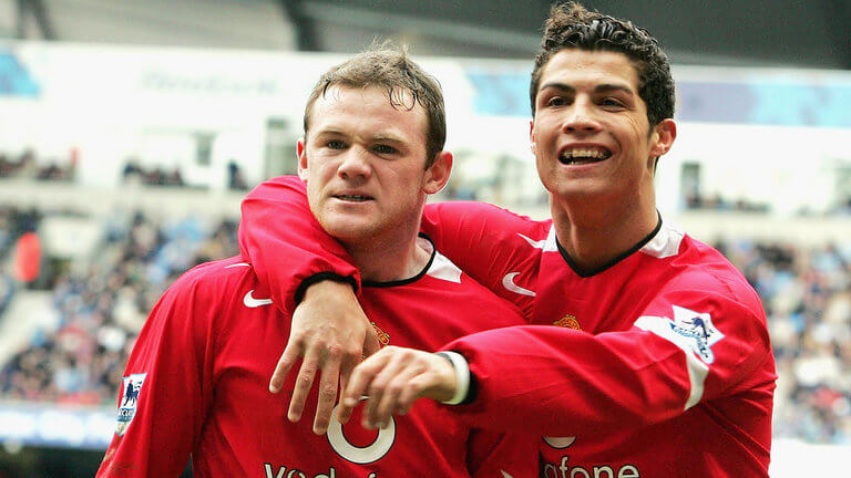 Роналду провел шесть успешных лет в «Манчестер Юнайтед».