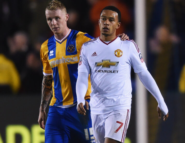 Shrewsbury Town v Manchester United - The Emirates FA Cup Fifth Round - Pictures - Zimbio-23