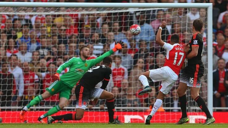 Впоследней игре против «Манчестер Юнайтед» «Арсенал» добыл победу благодаря быстрому старту.