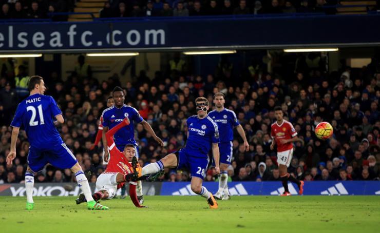 Казалось, результативный удар Лингарда вовтором тайме принесет «Юнайтед» максимум очков.