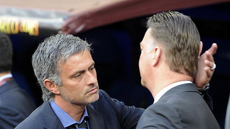 Моуриньо, как сообщается, хочет стать преемником ван Гала на «Олд Траффорд».