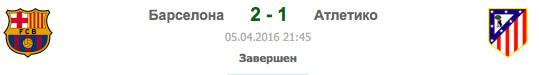 BAR 2-1 MAD | Барселона - Атлетико | Статистика матча-06