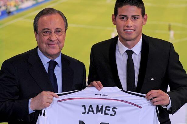 James-Rodriguez-Officially-Unveiled-At-Real-Madrid