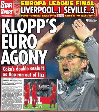 «Провал Клоппа». Заголовки британских газет после поражения «Ливерпуля» - Mustread Football - Блоги - Sports.ru-19