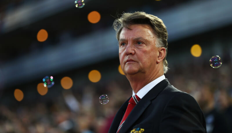 Louis van Gaal Photos - West Ham United v Manchester United - Premier League - Zimbio-11