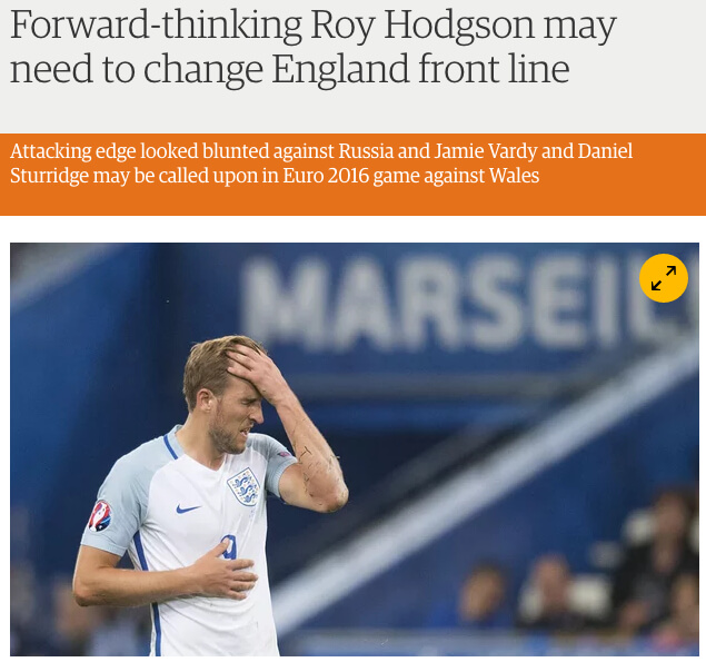 Forward-thinking Roy Hodgson may need to change England front line | Amy Lawrence | Football | The Guardian-12