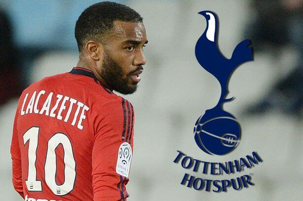 Lacazette-Tottenham