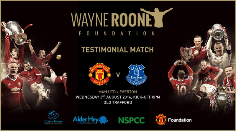 RedReveal в Твиттере: «OFFICIAL: Details of Wayne Rooney's testimonial match v Everton have been published and can be seen in t…-09