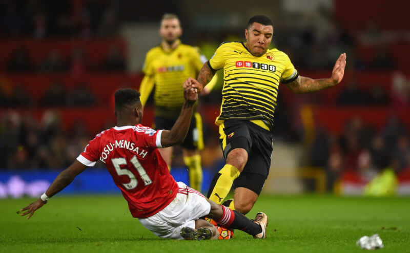 Timothy Fosu-Mensah Photos - Manchester United v Watford - Premier League - Zimbio-12
