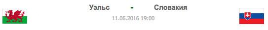 WAL - SVK | Уэльс - Словакия | Статистика матча-11