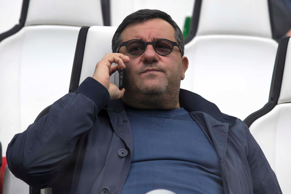 Football agent Mino Raiola - Agent of Ibrahimovic and Pogba (Photo by AMA/Corbis via Getty Images)