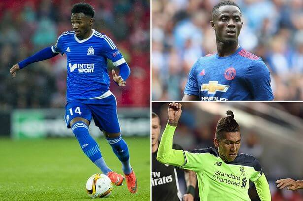 Georges-Kevin-NKoudou-Roberto-Firmino-and-Eric-Bailly