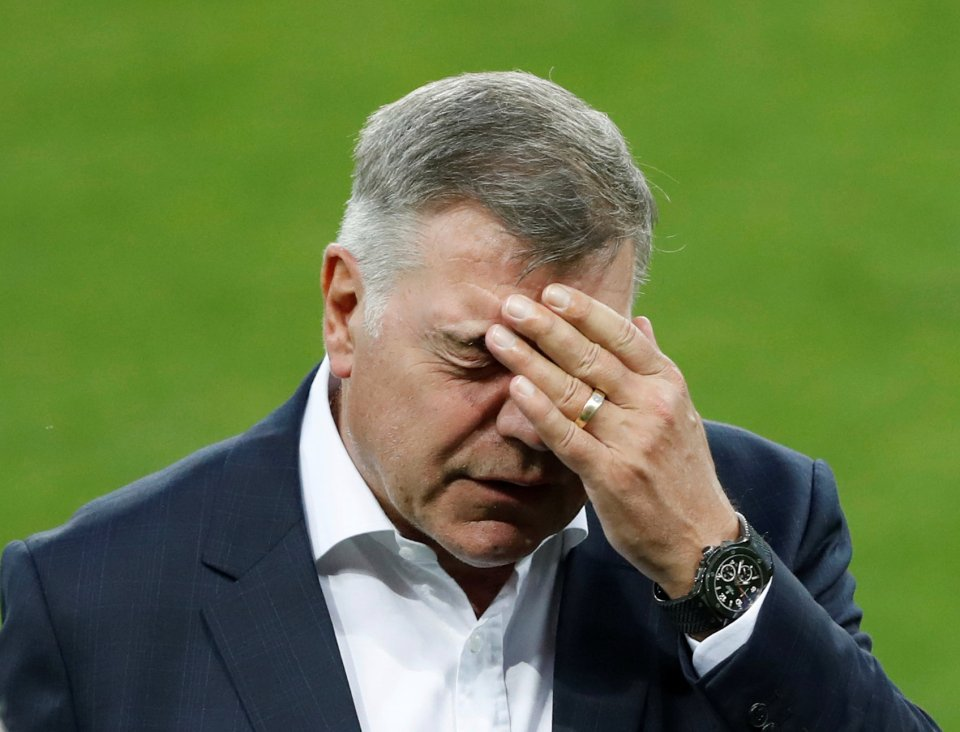 FILE PHOTO - Football Soccer - England Stadium Visit - City Arena, Trnava, Slovakia - 3/9/16England manager Sam Allardyce during the stadium visitAction Images via Reuters / Carl Recine/File Photo