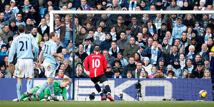 Победный мяч в ворота «Сити». 30.11.2008