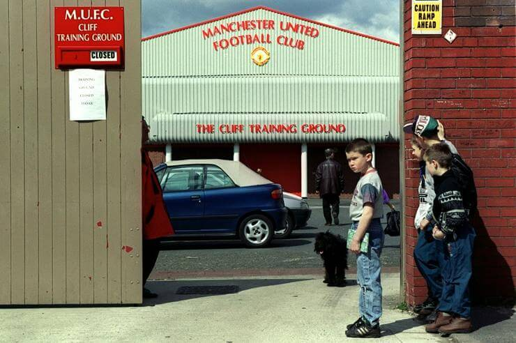 Soccer - FA Carling Premiership - Manchester United Training