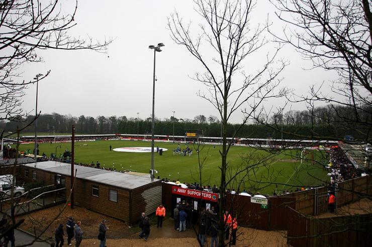 Soccer - FA Cup - Second Round - Histon v Leeds United - The Glassworld Stadium