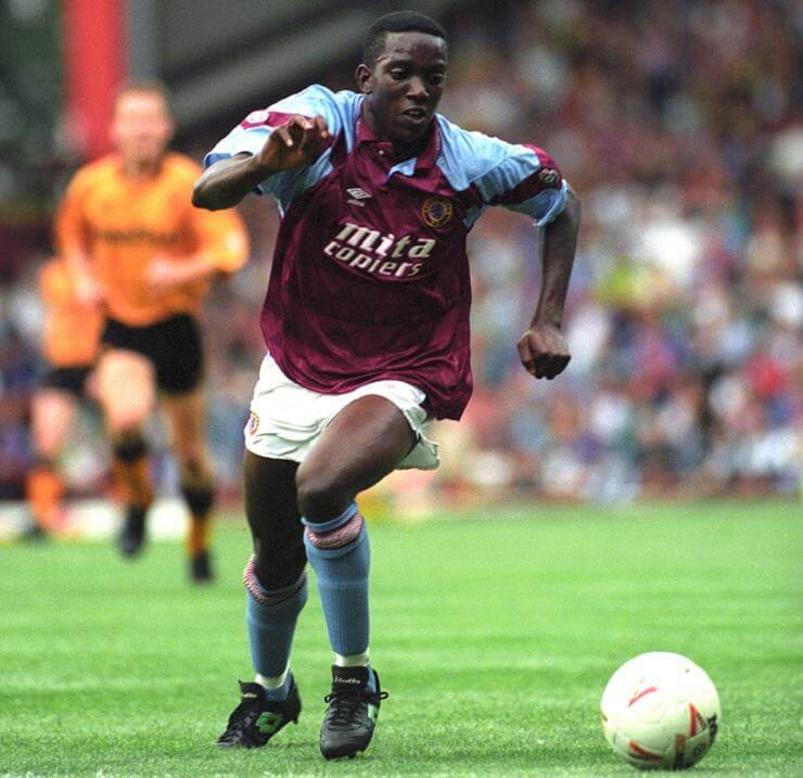 Aston Villa v Wolverhampton Wanderers - Pre-Season Friendly - Dwight Yorke - Villa Park