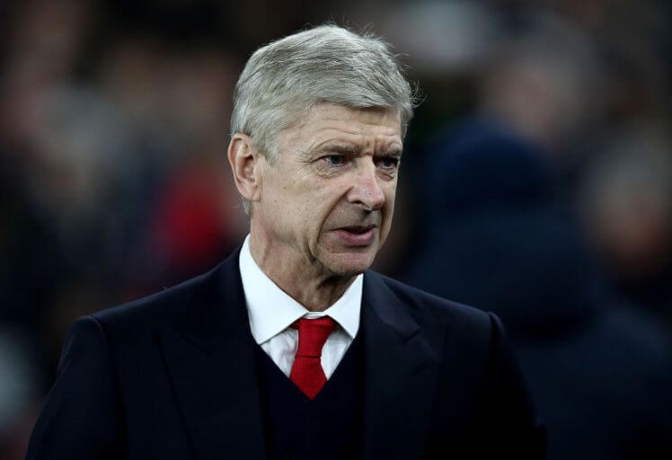 during the UEFA Champions League Group A match between Arsenal FC and Paris Saint-Germain at the Emirates Stadium on November 23, 2016 in London, England.