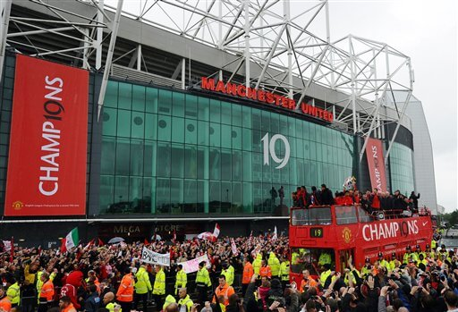 Britain Soccer Manchester United
