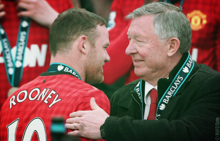 Руни стал лучшим бомбардиром вистории Манчестер Юнайтед