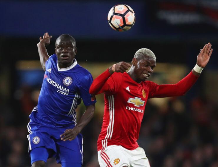 «Челси» обыграл «Манчестер Юнайтед» ивышел вполуфинал Кубка Британии